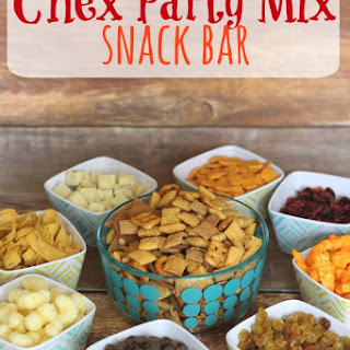 Chex Party Mix Snack Bar.