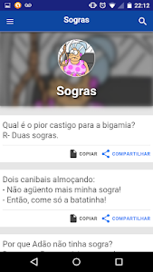 Jokes in Portugues screenshot 11
