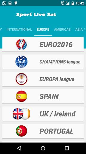 Sport Live Sat 5.2.0 screenshots 2