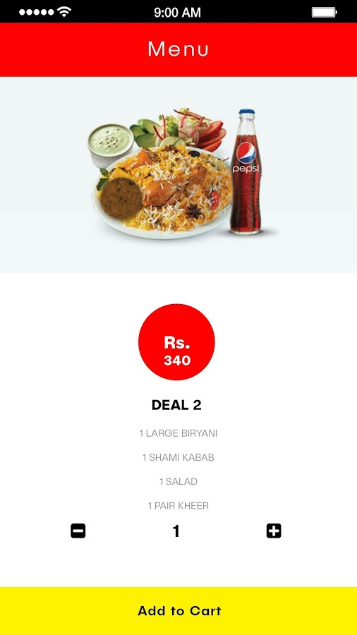 Student Biryani- screenshot