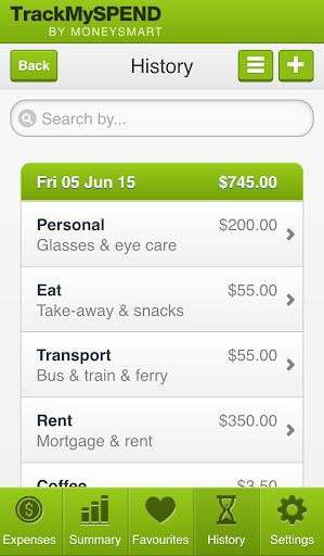 TrackMySPEND  screenshots 4