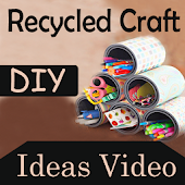 DIY Recycled Craft Ideas Video