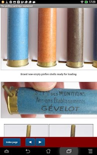 Reloading pinfire cartridges- screenshot thumbnail