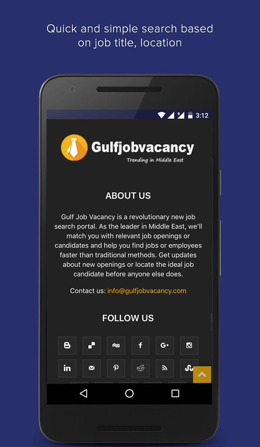 Gulf Job Vacancy- screenshot