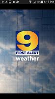 Screenshot of WAFB First Alert Weather