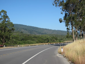 Photo: Approaching Crystal Springs Reservoir on Canada Rd