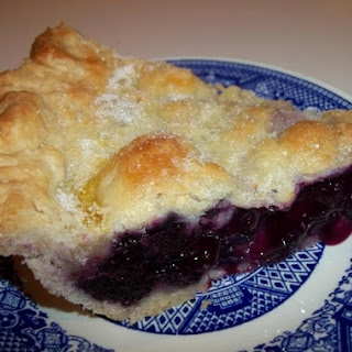 Carol'S Mouth Watering Blueberry Pie Recipe