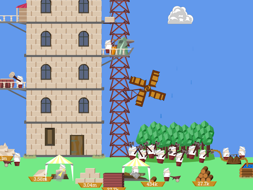 Idle Tower Builder screenshot 2