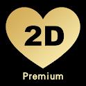 2Date Premium - 免費交友約會平台, 在線聊天 icon