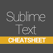 Sublime Text Cheatsheet