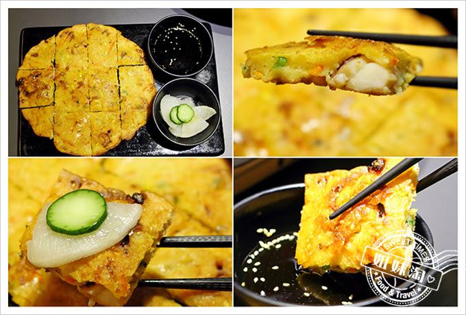 玉豆腐綜合海鮮煎餅