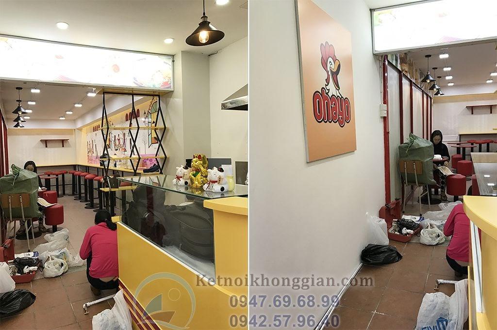 thiết kế quán ăn nhanh tại Hà Nội