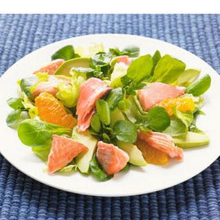 Groene Salade Met Zalm