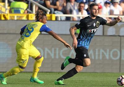 Serie A : buteur avec le Chievo, Samuel Bastien partage l'enjeu face à l'Atalanta de Timothy Castagne (vidéo)