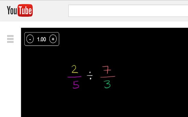 HTML5 Video Speed Control