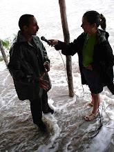 Photo: after hurricane hit Cuba. Tracey Eaton photo.