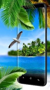 Summer Beach Live Wallpaper - náhled