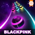 BLACKPINK Road Tiles: KPOP Colour Ball Dancing Run icon
