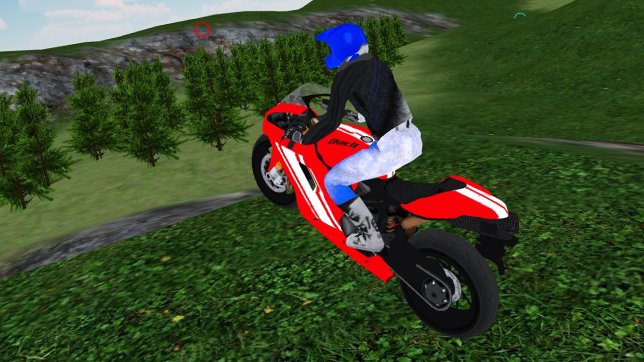 Motocross Bike Driving 3D- screenshot
