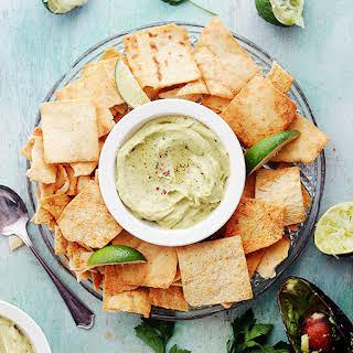 Feta Cheese and Avocado Hummus Dip.