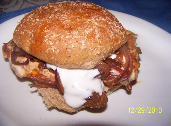 Buffalo Chicken/w Blue Cheese Sandwich Recipe