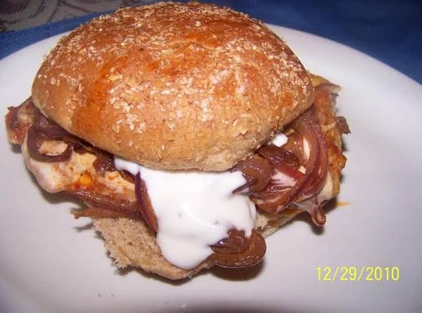 Buffalo Chicken/w Blue Cheese Sandwich Recipe