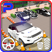 Suv police car parking: advance parking game 2019