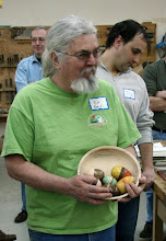Photo: MCW's resident Easter Bunny, Ed Karch.