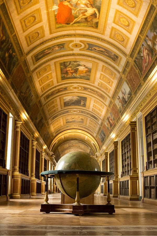 The Globe by Talbot Brooks - Buildings & Architecture Architectural Detail ( fresco, hall, filligree, fountainbleau, globe,  )