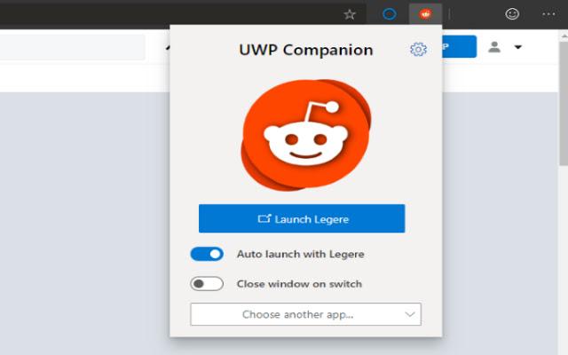 UWP Companion
