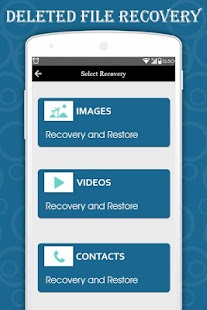 Contact Recovery & Sync : Deleted Photos Recover - náhled