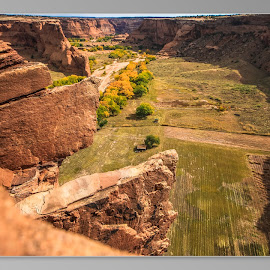 double focus by Daniel Nugent - Landscapes Caves & Formations ( farm, fall colors, canyon, rocks,  )