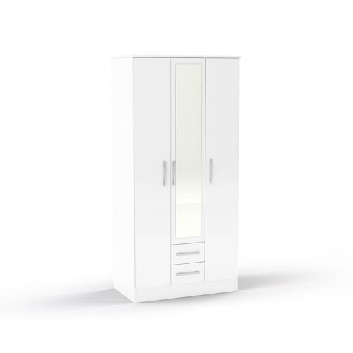 Birlea Lynx White Bedroom Furniture