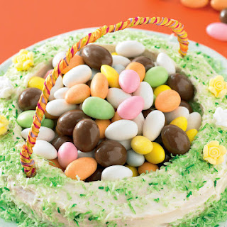Easter Basket Cake.