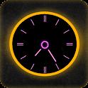 Neon Clock Live icon