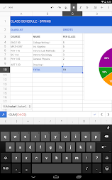 Google Sheets APK screenshot thumbnail 5