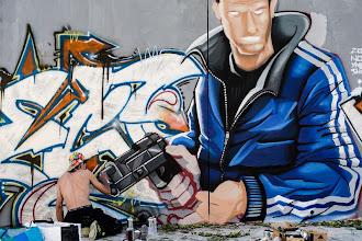 Photo: [Street Art]  David Guetta - Shot Me Down ft. Skylar Grey (Lyric Video)  Wish you a lovely sunday...  #streetart  #nikonlover