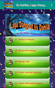 Lagu Dangdut Terbaik Iis Dahlia | Offline+Ringtone for PC-Windows 7,8,10 and Mac apk screenshot 4