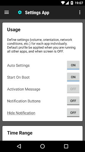 Settings App 1.0.145 screenshots 1