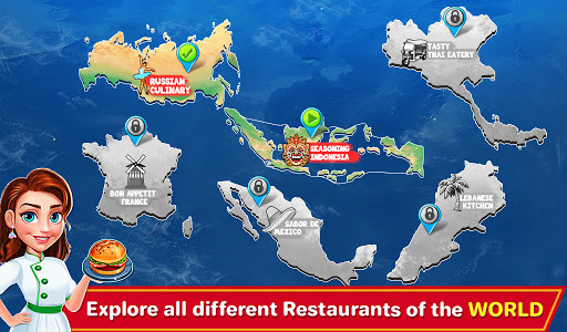 Indian Cooking Madness - Restaurant Cooking Games apkmr screenshots 2
