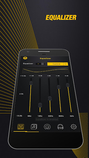 Volume Booster Sound Equalizer app (apk) free download for Android/PC/Windows screenshot