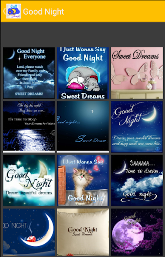 Good Night SMS Messenger