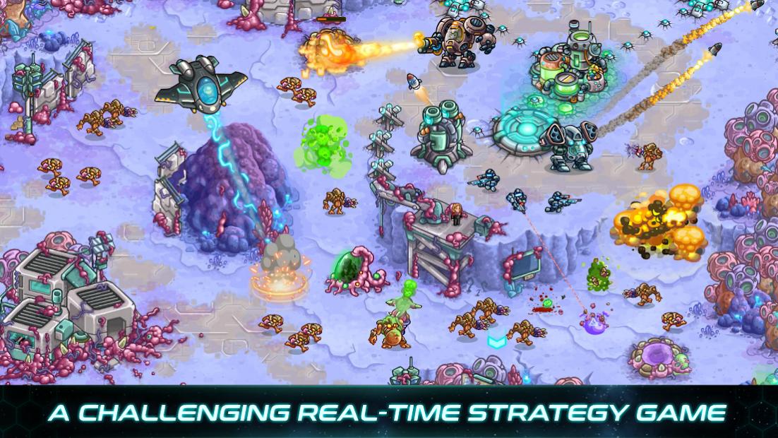 Iron Marines: rts offline game Android App Screenshot