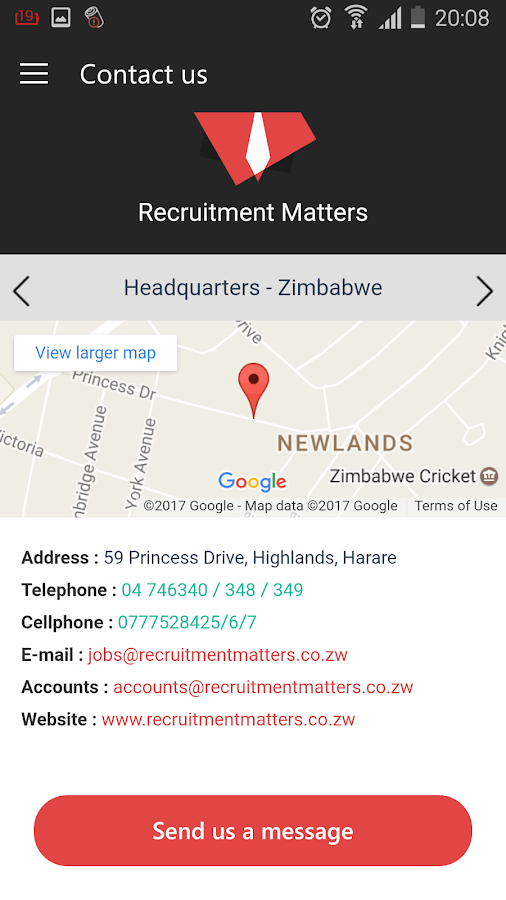 Recruitment Matters- screenshot