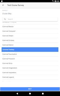 TIS Survey App - náhled
