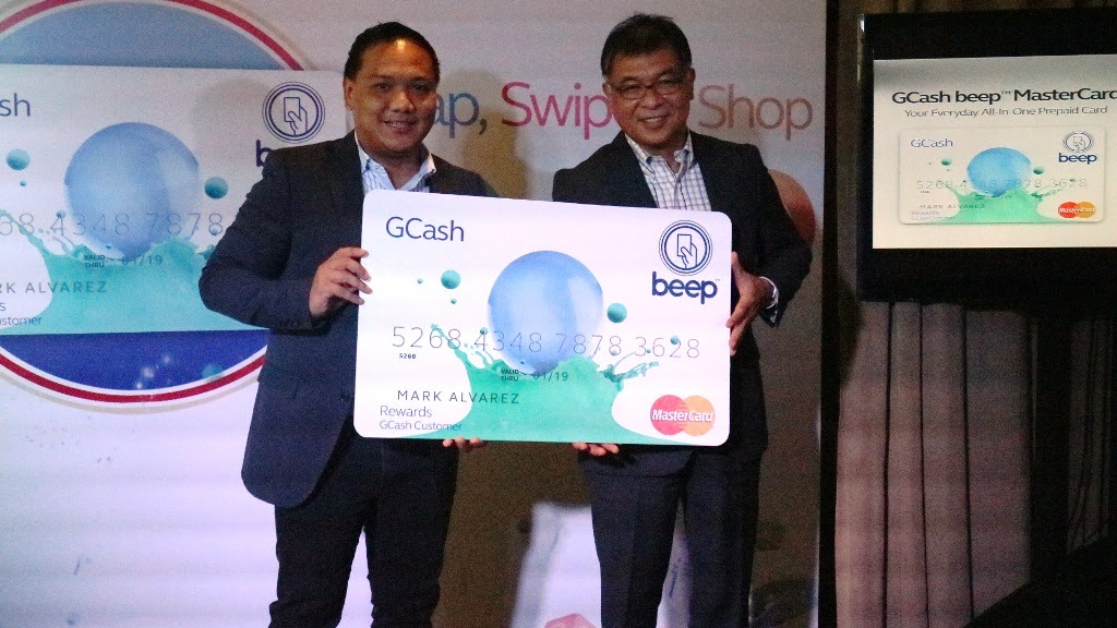 GCASH BEEP MASTRECARD EVERYDAY ALL-IN-ONE CARD