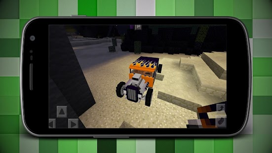 Hot Rod Cars Addon for Minecraft MCPE - náhled