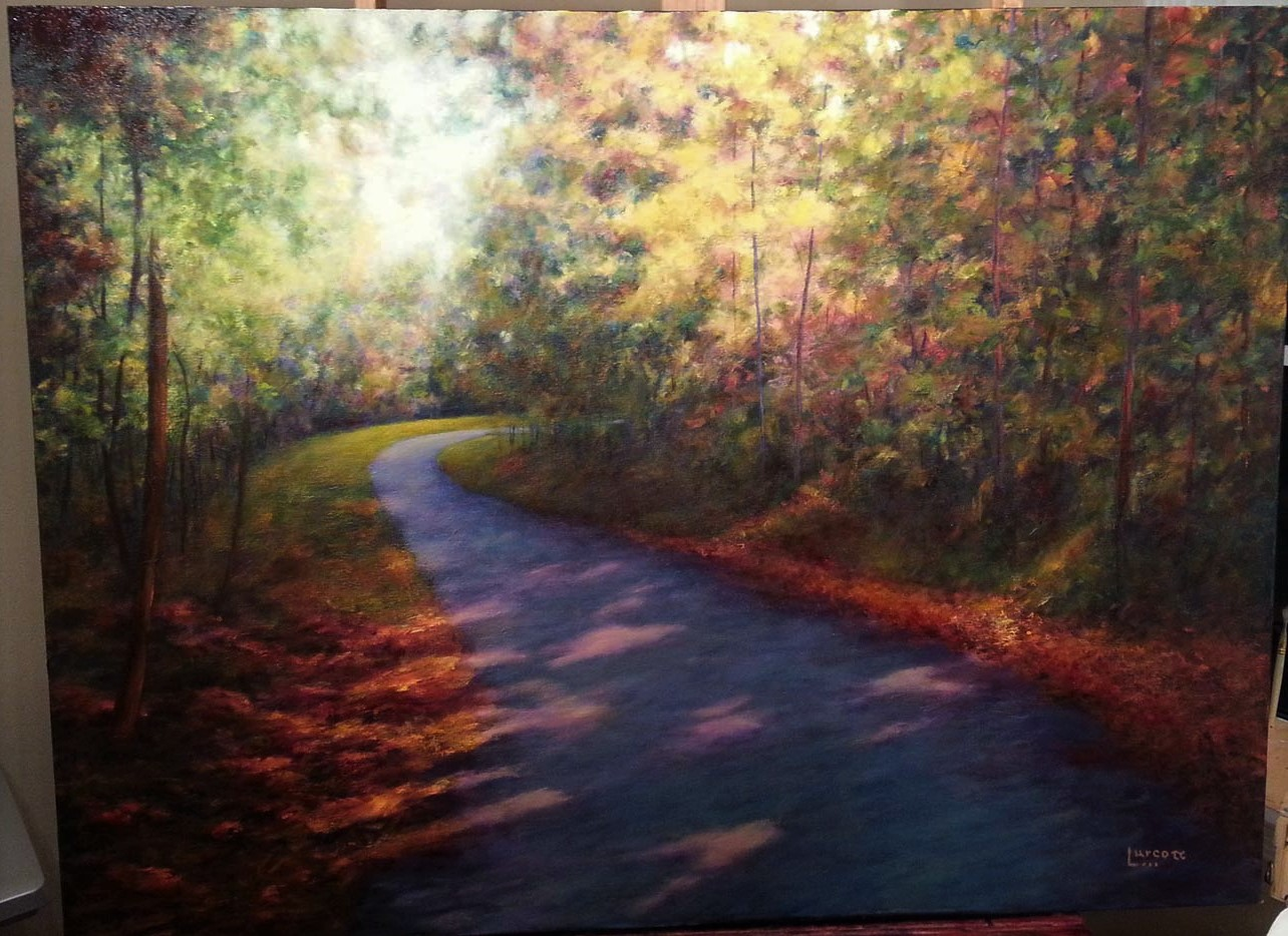 Art 14 Autumn Walk 36 x 48 oil.jpg