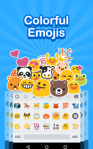 Emoji Keyboard Cute Emoticon Screenshot