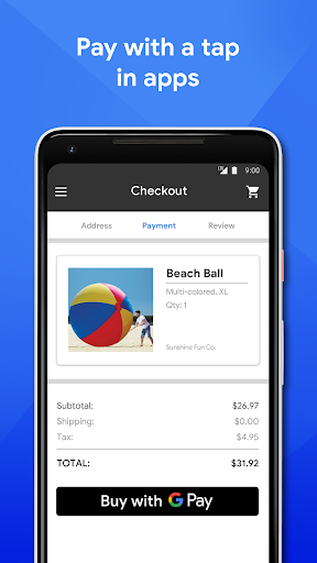 Google Pay: Pay with your phone and send cash screenshot 2